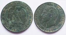 5 Centimes Napoléon III, 1861 A Paris, TTB !!