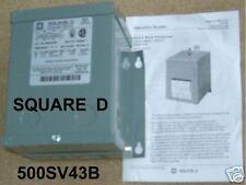 500SV43B SQUARE D TRANSFORMER DRY 1P .5KVA