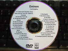 EMINEM - THE COMPLETE MUSIC VIDEO DVD COLLECTION DETROIT VS EVERYBODY RAP GOD