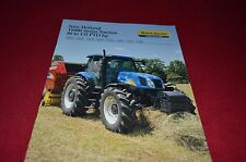 New Holland T6010 T6020 T6030 T6040 T6050 T6060 Tractor Dealers Brochure DCPA8