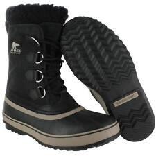 Sorel Men's 1964 PAC NYLON  Boot Black Waterproof NM1440 SIZE 12