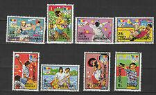 J.O. d'été à Barcelone ROUMANIE 1992 série de 8 timbres oblitérés / T1712