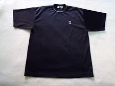 Vintage FILA Rare Football Shirt Black Men's Soccer Jersey Nice Trikot Size XL