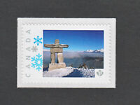 INUKSHUK ROCK STATUE =Sculpture = picture postage stamp MNH Canada 2013 [p3sn02]
