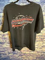 Tampa Bay Buccaneers Superbowl XXXVII Champions Black Tshirt Size Xl 🔥🔥Hot