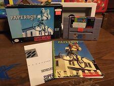 Paperboy 2 (Super Nintendo Entertainment System, 1991) Rental Copy SNES Snes