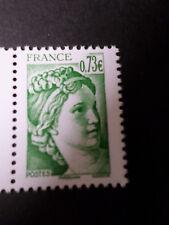 FRANCE SALON AUTOMNE 2017, timbre VERT SABINE 40 ANS, neuf**, VF MNH STAMP