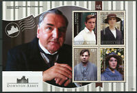 Canouan Grenadines St Vincent 2014 MNH Downton Abbey 4v M/S II TV Series Stamps