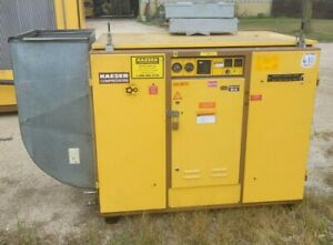Kaeser BS61 50 Hp Rotary Screw Air Compressor w/Electrical Disconnect