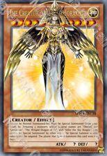 YUGIOH ORICA THE CREATOR OF LIGHT, HORAKHTY HOLO Custom Card FULL ART GÖTTER