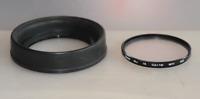 Mamiya RB / RZ Gegenlichtblende Nr 1 Brennweiten 127 bis 250 mm incl. UV-Filter