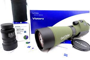 Carl Zeiss Diascope 85 T* FL green mit Vario Okular 20x60 -schöner Zustand -