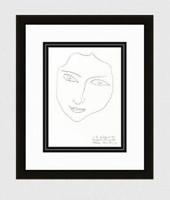 "Charming 1945 MATISSE Lithograph ""In Memory of Angela Lamotte"" SIGNED Framed COA"