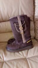 Golddigga Ladies Brown Suede  Winter Boots Size 6