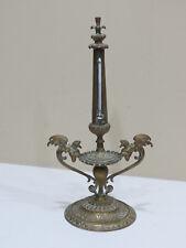 Rare Antique Brass Art Desk Thermometer