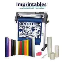 GRAPHTEC Vinyl Cutter CE6000-60 PLUS w/Stand and 50 YARDS OF VINYL