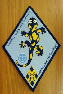 Girlguiding cloth badge NEW Discovering West Mercia County Challenge