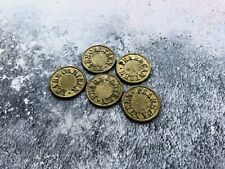 More details for 5 x vintage pears canteen tokens 2d - price for five