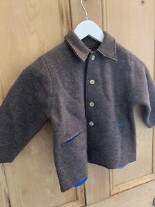 Lenai & Linai Austrian Wool Coat New Age 2-3 So Cute