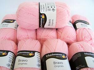 500g = 10 Knäuel - Wollpaket Schachenmayr Bravo - Fb 8206 rosè