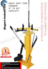 """MULTI TYRE CHANGER FOR CAR, ATV, MOTORCYCLE, HEAVY DUTY TYPE 4"""" to 21"""" Capacity"""