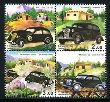 Tadschikistan Tajikistan 2015 Autos Oldtimer Cars Opel Moskvich ZIS ** MNH