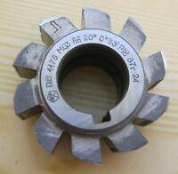 6 Modulfräser  Involute cutter M2,5  N3 5 8 HSS 20°