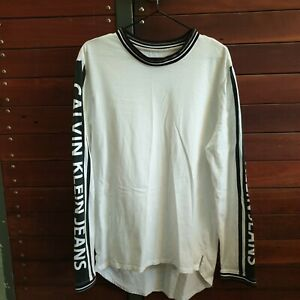Calvin Klein Jeans Long Sleeve Top. Size M