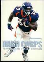 2000 Fleer SkyBox Dominion Hard Corps #3HC Terrell Davis Denver Broncos