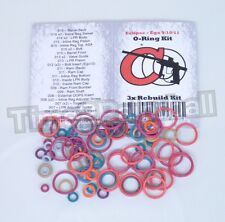 Eclipse Ego 9 / 10 / 11 Color Coded 3x Oring Rebuild Seal Kit O Ring O-ring