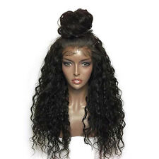 Curly Full Lace Wig Indian Remy Glueless Lace Front Human Hair Wigs Black Women