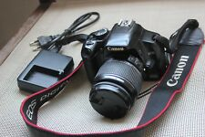 Canon EOS 450D 12.2MP Fotocamera Reflex Digitale-Nero (Kit con EF-S 18-55 mm Lens)