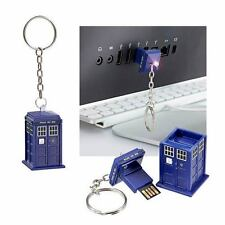 "DOCTOR WHO ""TARDIS 16GB USB MEMORY STICK"" NEW in Package"