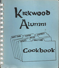 CEDAR RAPIDS IA 1980 KIRKWOOD COMMUNITY COLLEGE ALUMNI COOK BOOK *IOWA VINTAGE