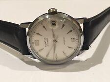 Vintage 1950's Roulette Date Gents' Watch by Rontex. Incabloc 21 jewels movement