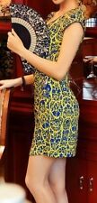 Charming  embroidered chinese mini evening dress Qipao Cheongsam sizeL $60value