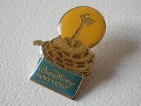 Pin's vintage Collector épinglette pub DISNEY HOME VIDEO jungle book Lot L027
