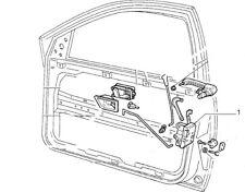 Fiat Tipo Tempra door lock locking menchism 46411412