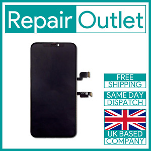 Display Digitizer For iPhone Xs Max Black Replacement LCD Touch Screen & Frame