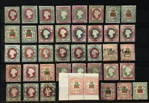 Helgoland Sammlung mit Originale und amtliche Neudrucke - was für Spezialisten