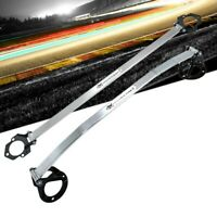 Megan Racing Front & Rear Upper Polish Race Strut Bar For 06-13 IS250/IS350/ISF