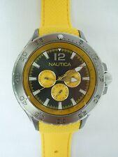 Nautica Men's N18675G Aluminum Multi Classic Analog with Enamel Bezel Watch