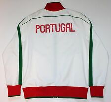NIKE Portugal Coat of Arms White Red Green Soccer Track  LIMITED Jacket XL RARE