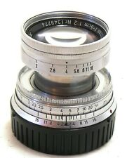 Leica 50mm f/2 Summicron collapsible lens, M mount EXC #36902