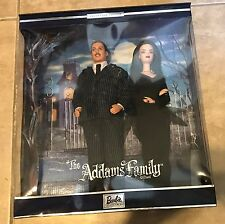 The Addams Family Barbie Gift Set NEW Factory Sealed in box