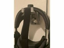 More details for wall mount for valve index virtual reality vr headset stand in black