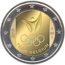 Olympia & Sport Münzen aus Belgien