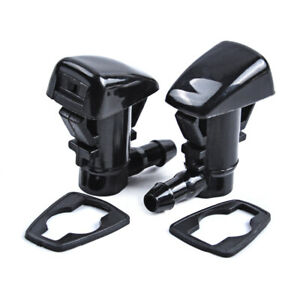 2PCS Front Windshield Washer Nozzles For GMC Acadia/Chevrolet Traverse/Saturn