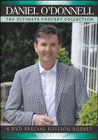 DANIEL O'DONNELL The Ultimate Concert Collection 4DVD BRAND NEW PAL Region ALL