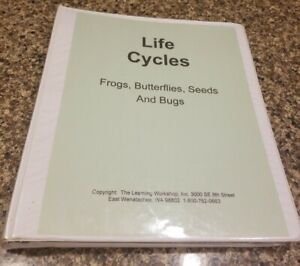 Early Childhood Teacher Frog, Butterflies, Seeds, Etc Life Cycles CD & Binder